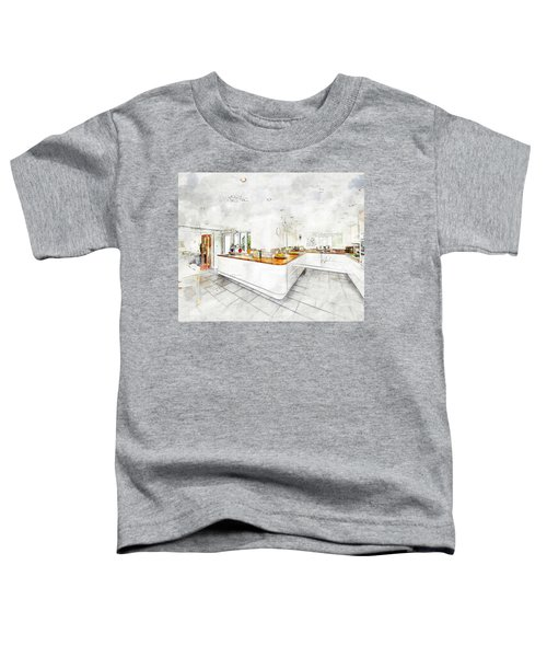A Bright White Kitchen Toddler T-Shirt
