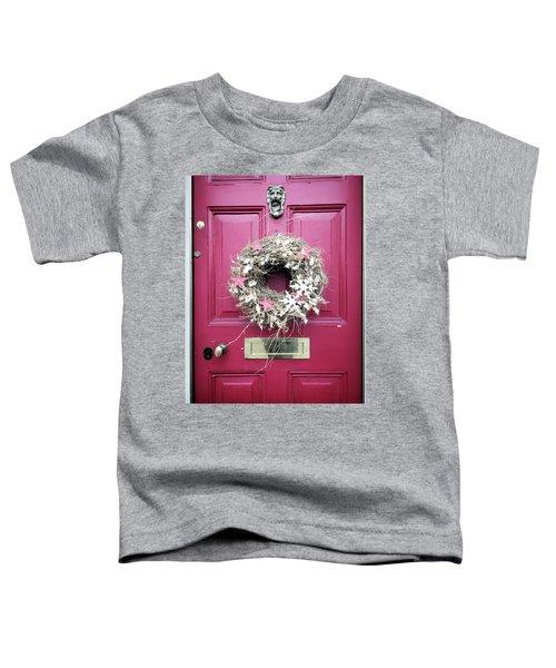 A Christmas Wreath Toddler T-Shirt