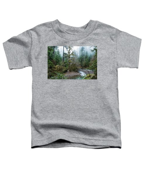A Creek Runs Through It Toddler T-Shirt