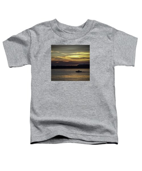 A Day Of Fishing Toddler T-Shirt