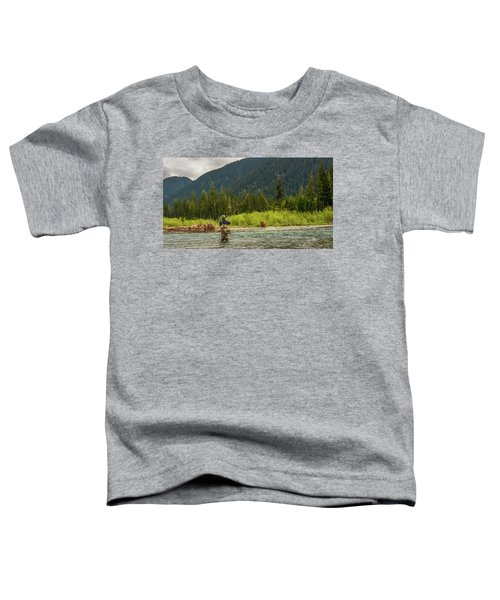 A Day On The River Toddler T-Shirt