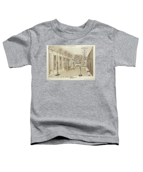 A Design For A Music Room Toddler T-Shirt