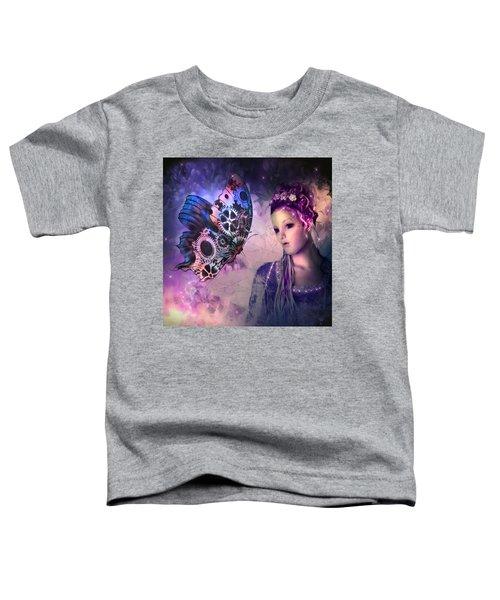 A Fairy Butterfly Kiss Toddler T-Shirt