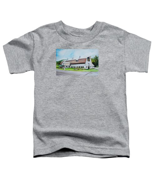 A Farmstand  In The Berkshires Toddler T-Shirt