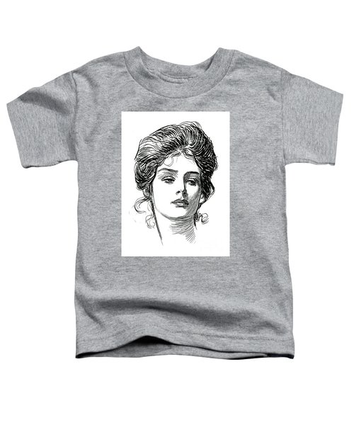 A Gibson Girl, C 1902 Toddler T-Shirt