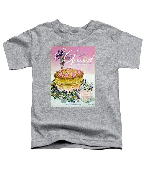 A Gourmet Cover Of A Souffle Toddler T-Shirt