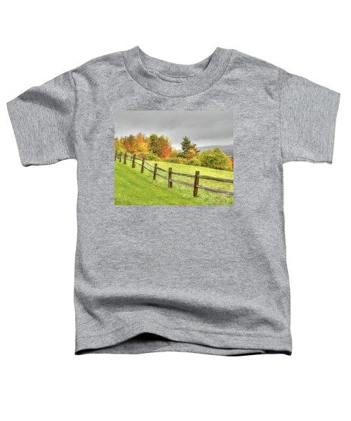 A Highland Forest Autumn Toddler T-Shirt