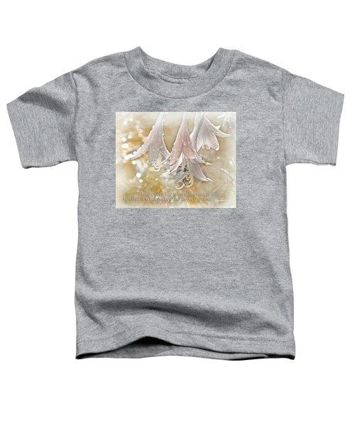 A Little Rain Toddler T-Shirt
