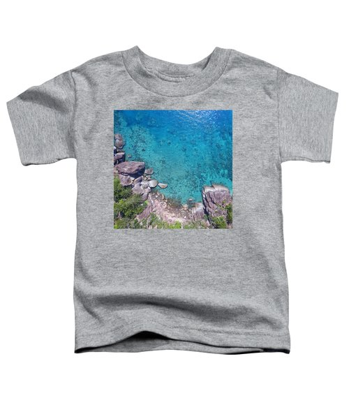 A Little Square Of Paradise  Toddler T-Shirt