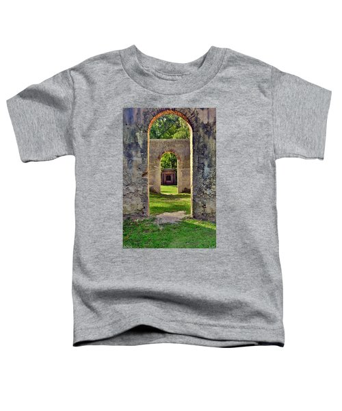 A Look Through Chapel Of Ease St. Helena Island Beaufort Sc Toddler T-Shirt