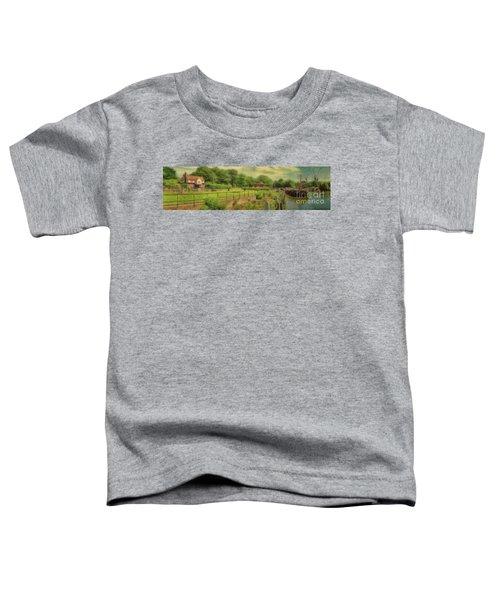 A Morning At Teddington Lock Toddler T-Shirt