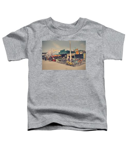 A Perfect Day For A Ride Toddler T-Shirt by Laurie Search