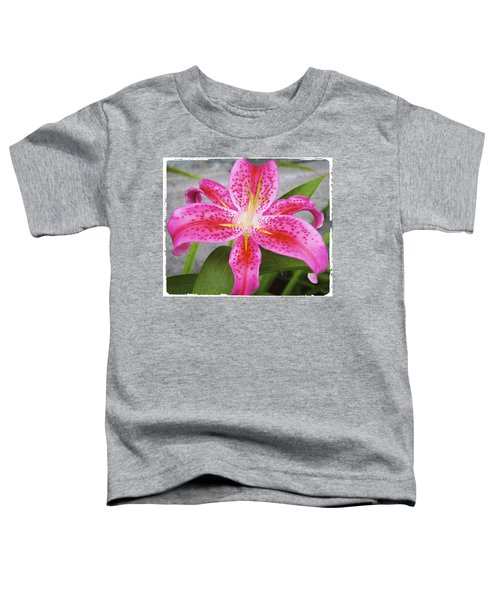 A Pink So Vivid I Can Almost Taste It Toddler T-Shirt