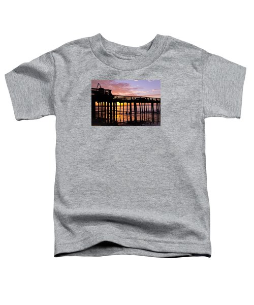 Toddler T-Shirt featuring the photograph A Quiet And Beautiful Start by Lora Lee Chapman