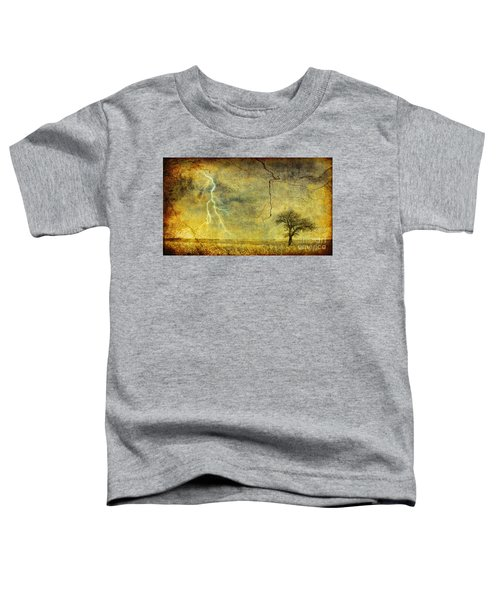 A Stormy Spring Toddler T-Shirt