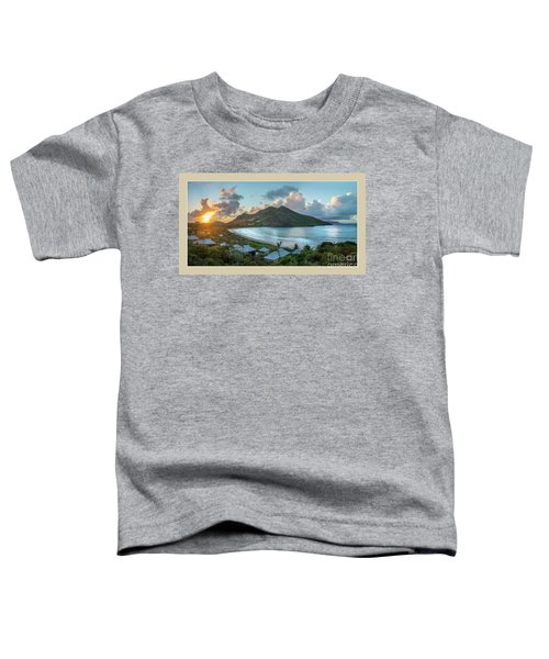 A Sunset On Bay Toddler T-Shirt
