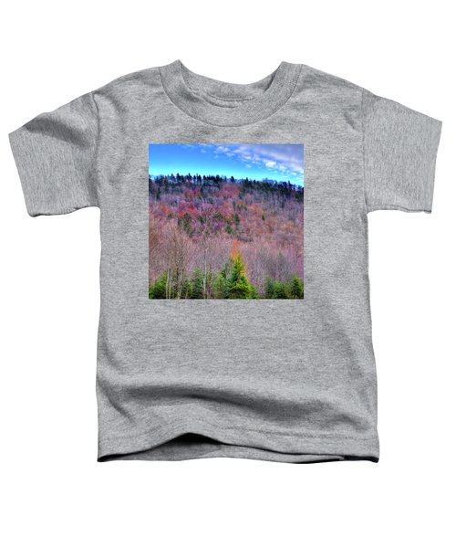 Toddler T-Shirt featuring the photograph A Touch Of Autumn by David Patterson