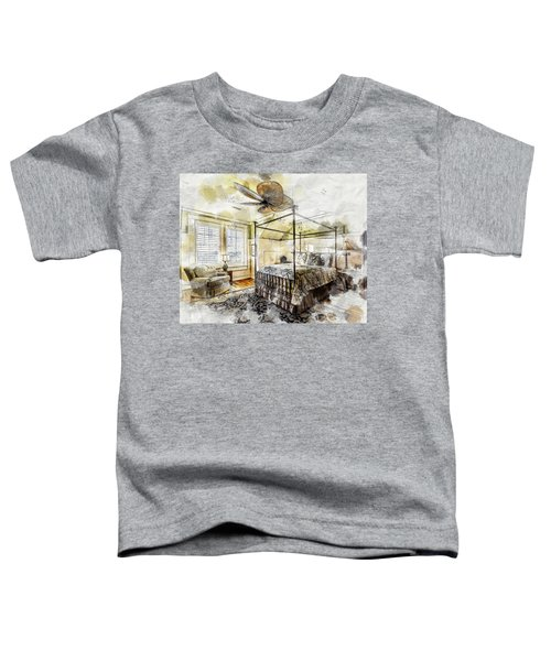 A Traditional Bedroom Toddler T-Shirt