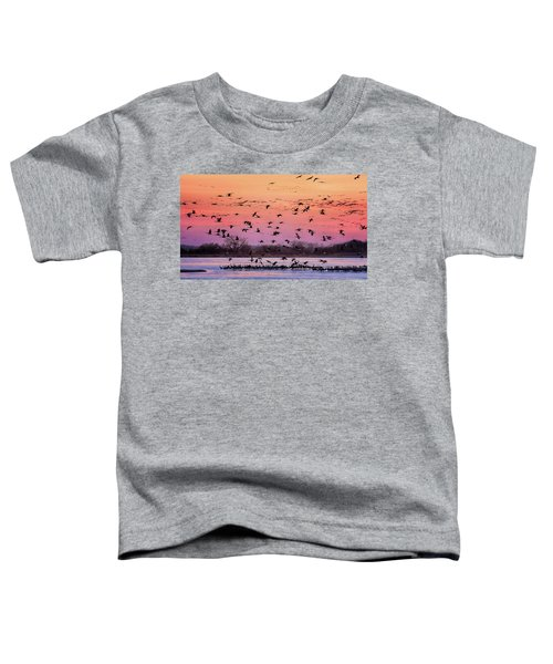 A Vibrant Evening Toddler T-Shirt