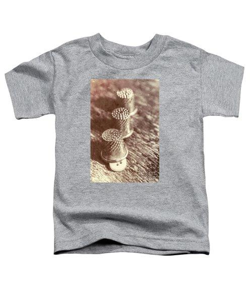 A Vintage Stitch Up Toddler T-Shirt