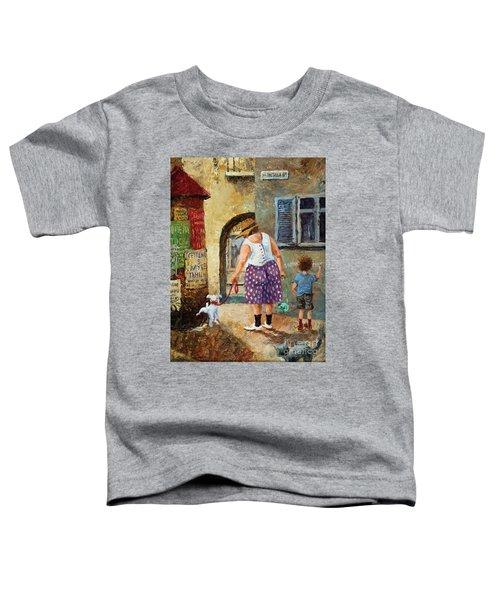 A Walk Down Memory Line Toddler T-Shirt