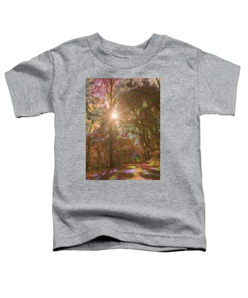 A Walk Through The Rainbow Forest Toddler T-Shirt