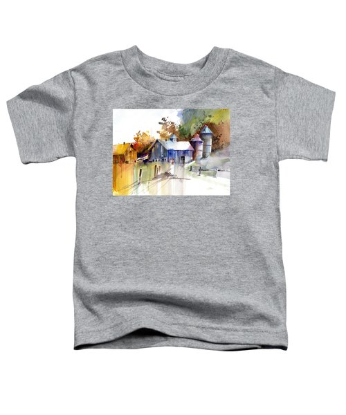 A Walk To The Barn Toddler T-Shirt