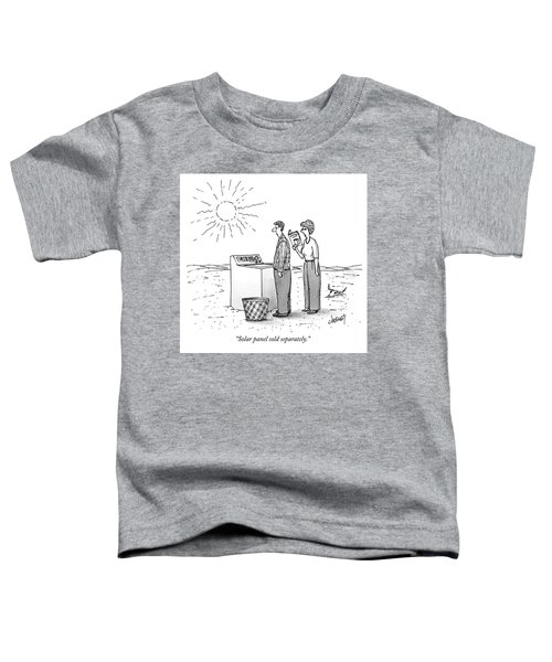 A Wife Reads Her Husband The Instructions Toddler T-Shirt