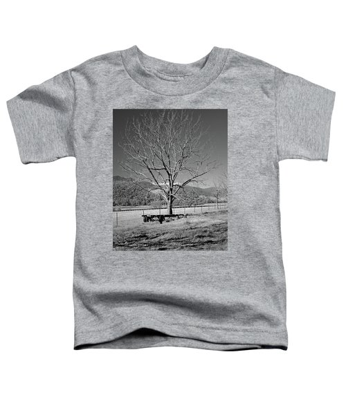 A Wintery Stand Toddler T-Shirt