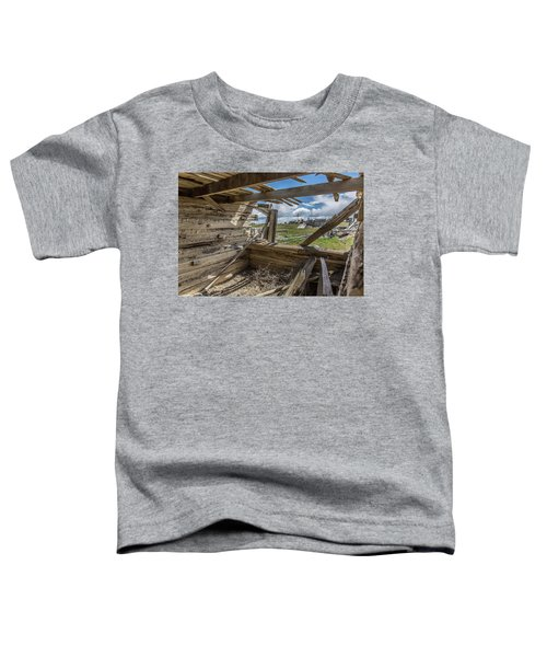 Abandoned Building In Cisco, Utah Toddler T-Shirt