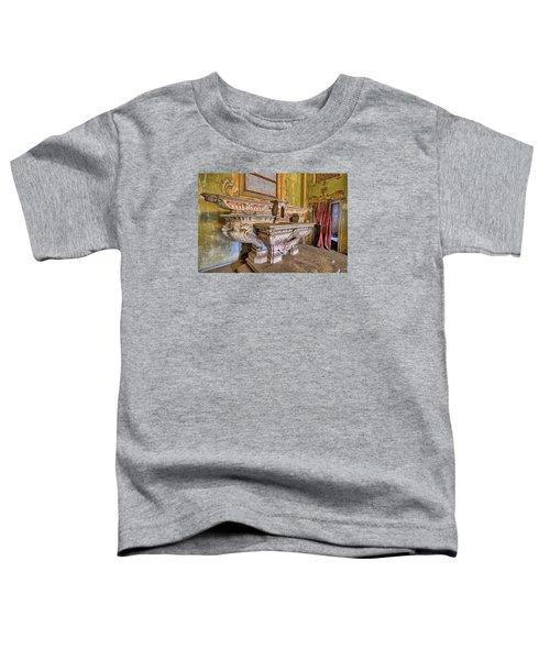 Abandoned Chapel Of An Important Liguria Family IIi - Cappella Abbandonata Di Famiglia Ligure 3 Toddler T-Shirt