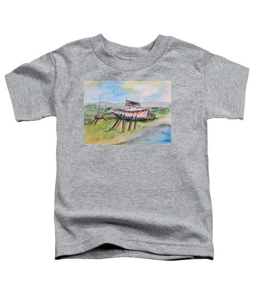 Abandoned Fishing Boat Toddler T-Shirt
