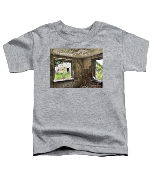 Abandoned Old Ammunition Depot Of The Belgian Army  Toddler T-Shirt