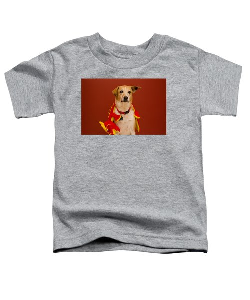 Abbie And Dragon Toy Toddler T-Shirt