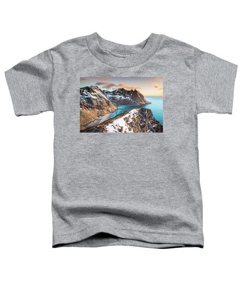 Above The Beach Toddler T-Shirt