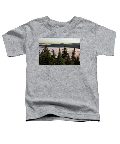 Above The Clouds Toddler T-Shirt