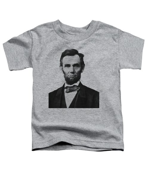 Abraham Lincoln Toddler T-Shirt by War Is Hell Store