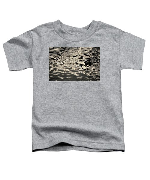 Abstract Dock Reflections I Toned Toddler T-Shirt