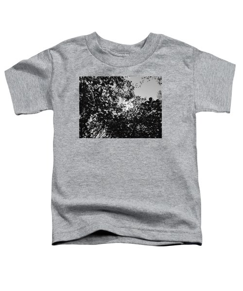 Abstract Leaves Sun Sky Toddler T-Shirt