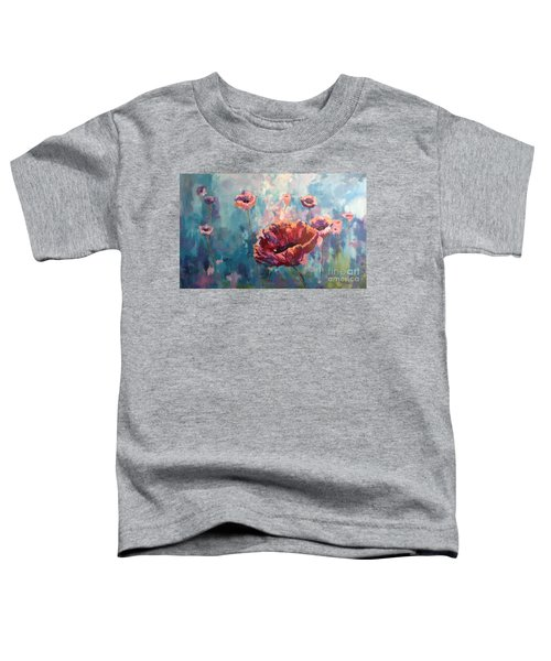 Abstract Poppy Toddler T-Shirt