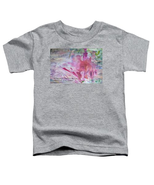 Famous Quotes Hubbard Toddler T-Shirt