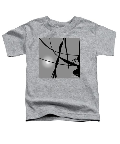 Abstract Reflection Toddler T-Shirt