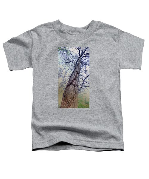 Abstract Tree Trunk Toddler T-Shirt