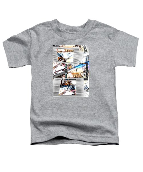 Abstract Triptych Toddler T-Shirt