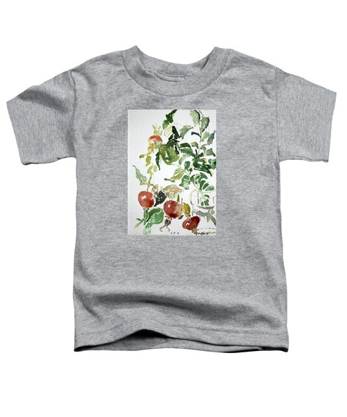 Abstract Vegetables Toddler T-Shirt