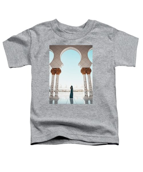 Abu Dhabi Mosque Toddler T-Shirt
