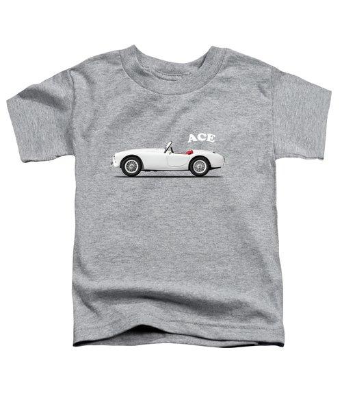 Ac Ace Toddler T-Shirt by Mark Rogan