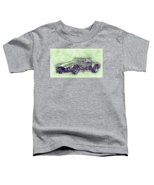 Ac Cobra - Shelby Cobra 3 - 1962s - Automotive Art - Car Posters Toddler T-Shirt