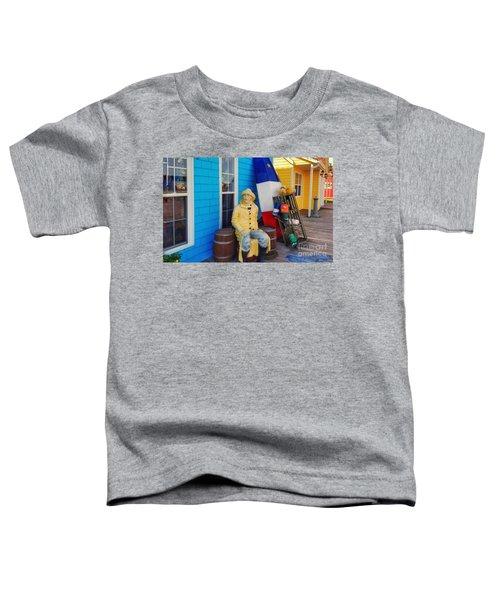 Acadian Fisherman, Prince Edward Island, Canada Toddler T-Shirt