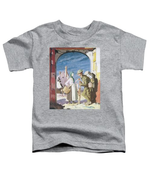 Adam And Eve At Peronne Toddler T-Shirt